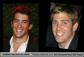 Jonathan Togo from CSI: Miami Totally Looks Like Eric Szmanda from CSI: Vegas