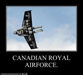 CANADIAN ROYAL AIRFORCE.