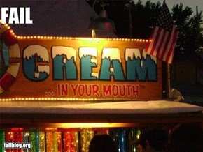 Carnival Cream Fail
