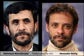 Mahmoud Ahmedinajad Totally Looks Like Alexander Siddig