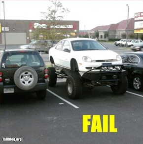 Off Road Rig Fail