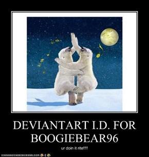 DEVIANTART I.D. FOR BOOGIEBEAR96