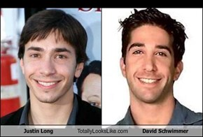 Justin Long Totally Looks Like David Schwimmer