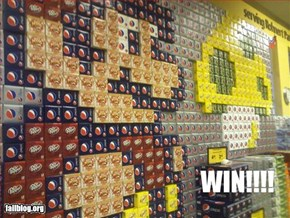 Soda Display Win
