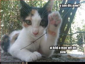 u see dis paw?