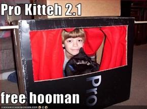 Pro Kitteh 2.1  free hooman