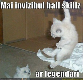 Mai invizibul ball skillz  ar legendari
