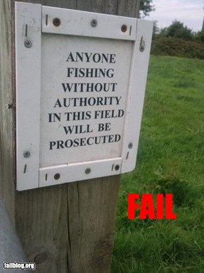 Fishing Fail