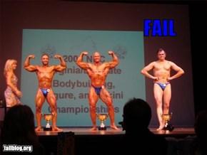 Bodybuilding Fail