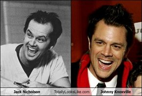 Jack Nicholson Totally Looks Like Johnny Knoxville