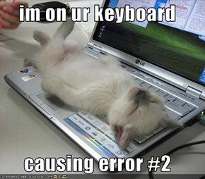 im on ur keyboard  causing error #2