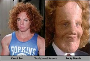 Carrot Top Totally Looks Like Rocky Dennis