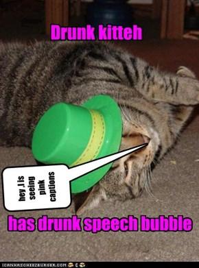 Drunk kitteh