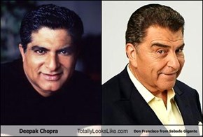 Deepak Chopra Totally Looks Like Don Francisco from Sabado Gigante