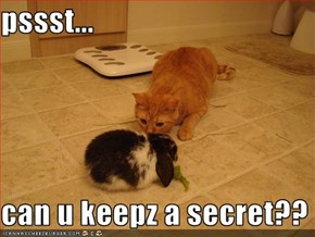 pssst...  can u keepz a secret??