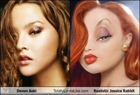 Devon Aoki Totally Looks Like Realistic Jessica Rabbit