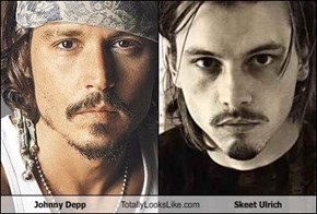 Johnny Depp Totally Looks Like Skeet Ulrich