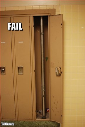 Locker Fail