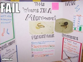 Science Project Fail
