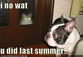 i no wat   u did last summer...