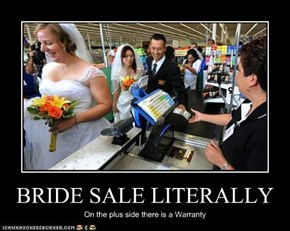 BRIDE SALE LITERALLY