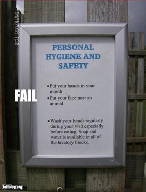 Sanitary Fail