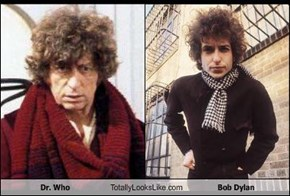 Dr. Who Totally Looks Like Bob Dylan