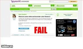 Flower Fail