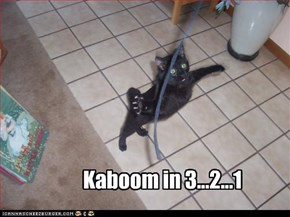 Kaboom in 3...2...1