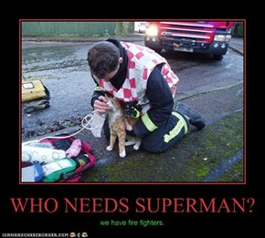 WHO NEEDS SUPERMAN?