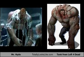 Mr. Hyde Totally Looks Like Tank from Left 4 Dead