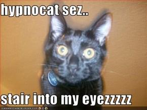 hypnocat sez..  stair into my eyezzzzz