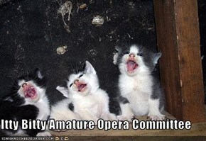 Itty Bitty Amature Opera Committee