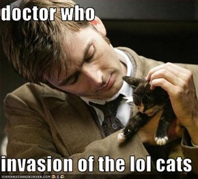 doctor who  invasion of the lol cats