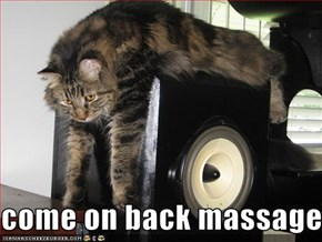 come on back massage