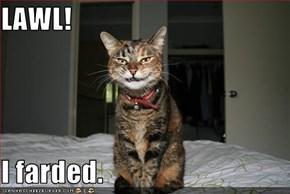 LAWL!  I farded.