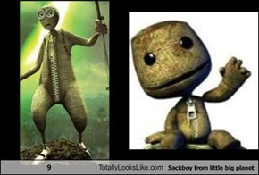 9 Totally Looks Like Sackboy from little big planet