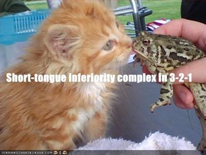 Short-tongue inferiority complex in 3-2-1