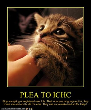 PLEA TO ICHC