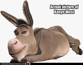 Actual picture of Kanye West