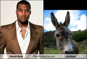 Kanye West Totally Looks Like a jackass