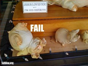 Piggy Bank Fail