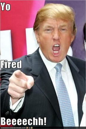 Yo Fired Beeeechh!