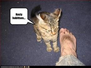 Nasty hobittses...