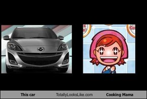This car Totally Looks Like Cooking Mama