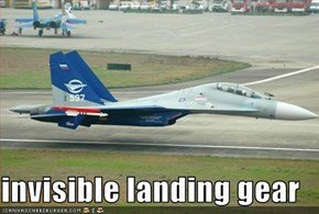 invisible landing gear