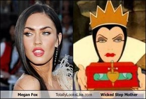 Megan Fox Totally Looks Like Wicked Step Mother