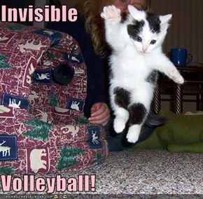 Invisible  Volleyball!