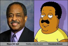 Mayor Bill Bell Totally Looks Like Cleveland Brown