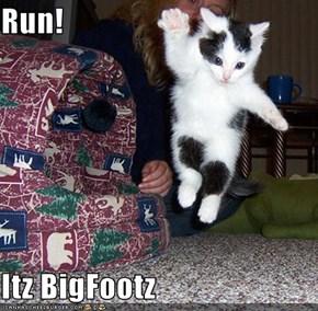 Run!  Itz BigFootz